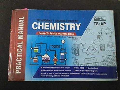 amazon in buy chemistry practical manual telangana intermediate rh amazon in Practical Alternative to Chemistry Chemistry Practical Engineering India