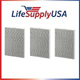 Cheap LifeSupplyUSA 3 HEPA Air Purifier Filters for Winix 115115 / PlasmaWave, Size 21