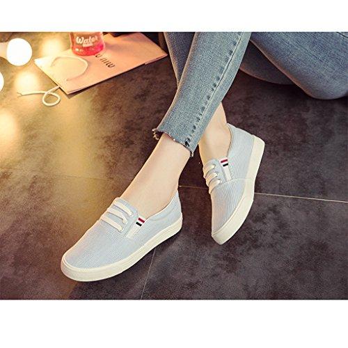Mujer de de Rayas Zapatos Zapatos Zapatos Zapatos de Mujer Tela Transpirables bbbcbf