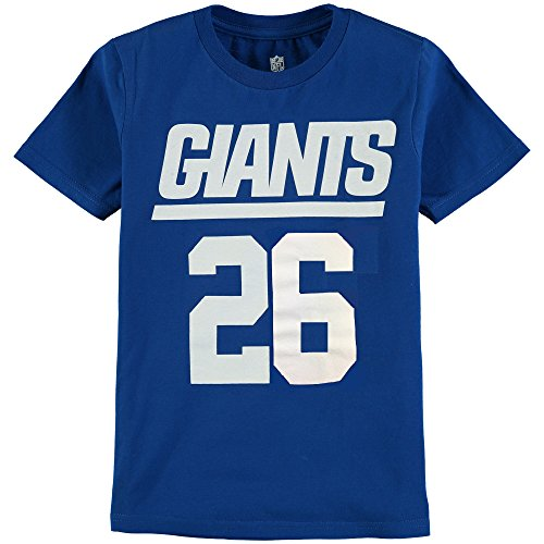Outerstuff NFL Youth 8-20 Performance Mainliner Team Color Player Name and Number T-Shirt