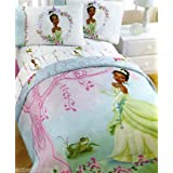 Disney Princess Tiana And The Frog Comforter W Tote Girl S Bedding Twin Or Full