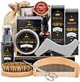 Beard Kit for Men/Dad/Husband Beard Growth Grooming Gift Sets W/ Beard Oil,Beard Balm
