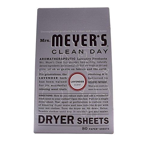 Free Shipping Mrs Meyers Dryer Sheets Lemon Verbena
