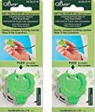 Clover Knitting Stitch Counter Mini Kacha-Kacha (2 Pack)