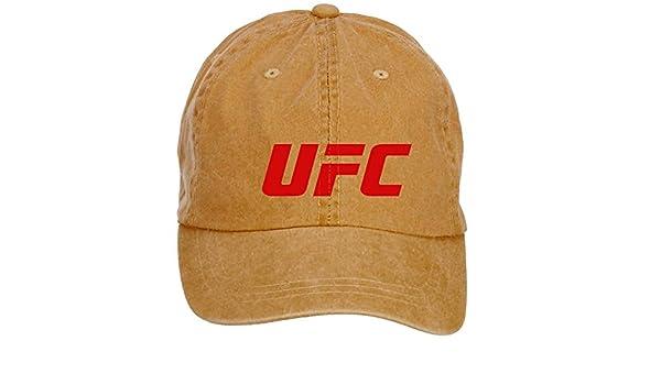 chengxingda UFC Ultimate Fighting Championship (algodón), diseño con logotipo lavar Gorra de béisbol ajustable Plain Hats Caps: Amazon.es: Ropa y accesorios
