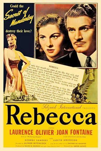 Amazon.com: Pop Culture Graphics Rebecca 11x17 Movie Poster (1940 ...