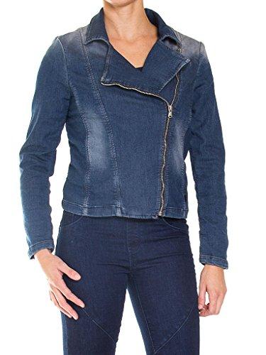 Slim Lavage En Tissu Veste Pour 459 Jeans Jean Noir Manche Taille Femme Extensible 110 Longue Carrera fvHqB