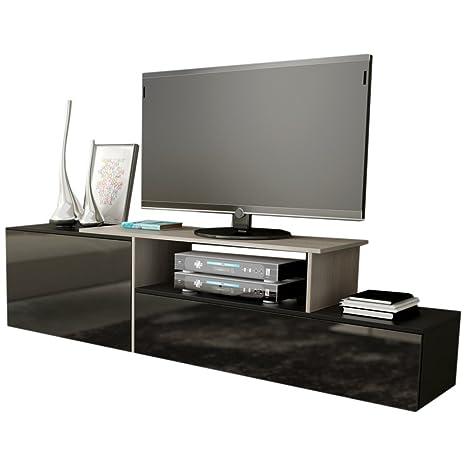 JUSTyou Sagmi III Mueble para TV Mesa televisión salón 180 cm ...