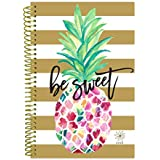 """bloom daily planners 2018 Calendar Year Daily Planner - Passion/Goal Organizer - Monthly and Weekly Datebook and Calendar - January 2018 - December 2018 - 6"""" x 8.25"""" - Be Sweet Pineapple"""