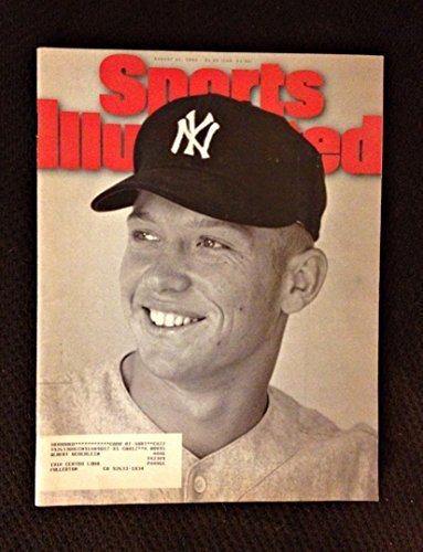 (Sports illustrated Magazine Back-issue August 21 1995 Young Mickey Mantle)