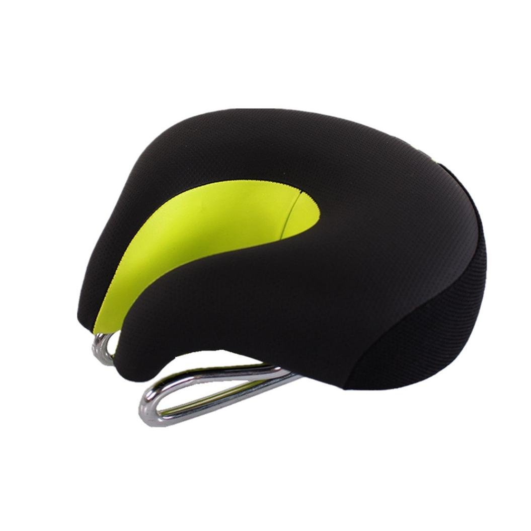 Feccile S-ports & Fit-ness Cycling Comfortable Ergonomic Bike Saddle Breathable Bicycle Cushion,1Pcs