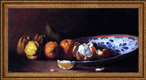 (Art Oyster Germain Clement Ribot Nature Morte AUX Fruits - 14.05