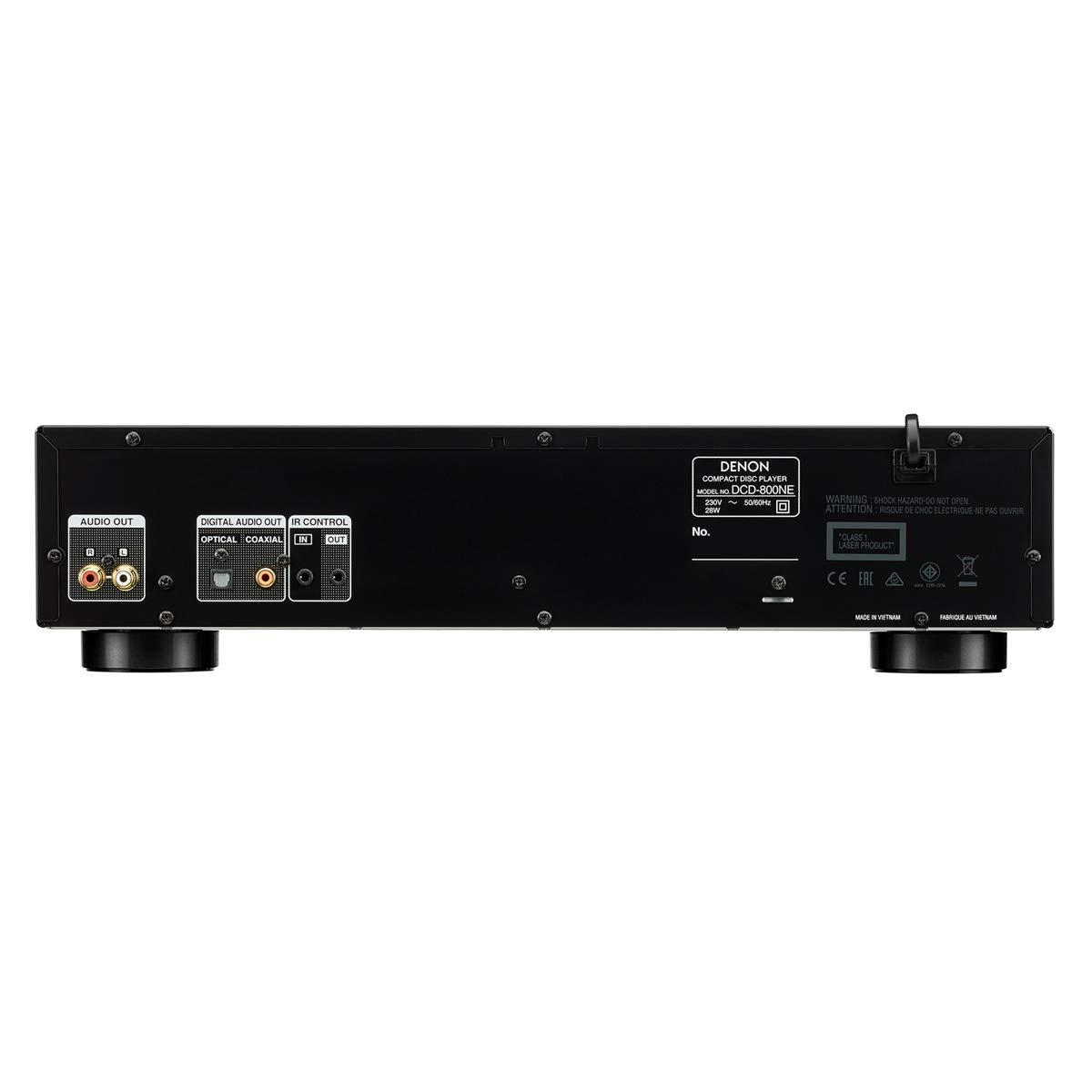 Denon DCD-1600NE Super Audio Cd Player (Black) by Denon (Image #3)