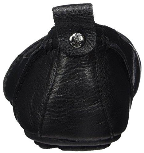 Hush Noir Femme Janessa Puppies black Ballerines waTRzqw