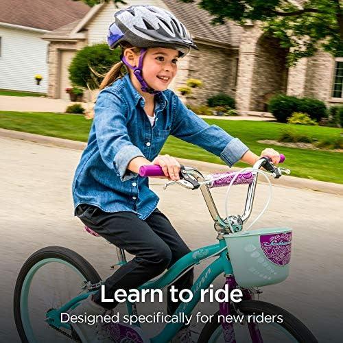 51wINkShzuL. AC  - Schwinn Elm Girls Bike for Toddlers and Kids
