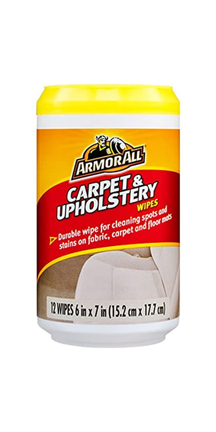 Amazon Com Armorall Carpet Upholstery Cleaning Wipes For Fabric