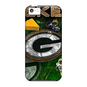 DannyLCHEUNG Iphone 5c Protective Hard Cell-phone Case Custom High-definition Green Bay Packers Pattern [nGv9771sTYy]