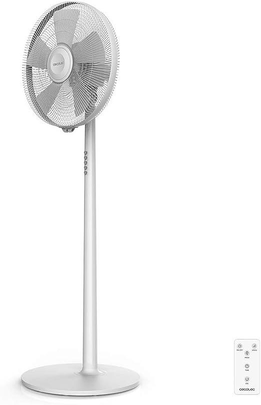 Cecotec Ventilador de Pie EnergySilence 540 Smart. 5 Aspas 16 ...