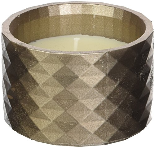 Candellana Candles Candlefort Candles Concrete Poly I-Brass, Scent: for Him