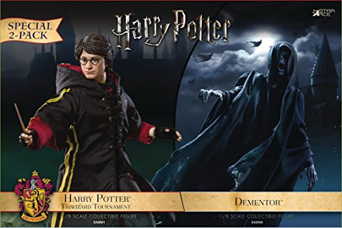 Star Ace Toys Harry Potter and The Goblet of Fire: Harry 1:8 Scale Action Figure (2 Pack)