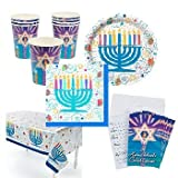 Deluxe Festive Hanukkah Party Pack (41 pc.)/Holiday/Party Supplies/Tableware