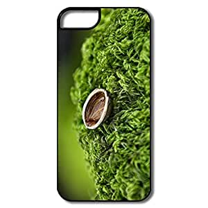 IPhone 5S Cases, Nut Shell Close White/black Cases For IPhone 5/5S