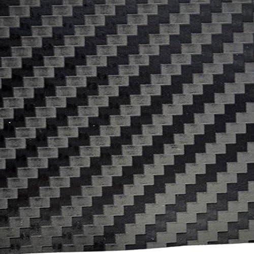 TipTopCarbon 6,58/€//m/² 3D Carbon Folie schwarz BLASENFREI 0,5m x 1,52m mit Luftkan/äle Autofolie selbstklebend