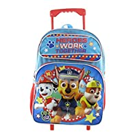 "Paw Patrol 16"" Large Rolling Backpack"