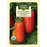 Seeds of Change Certified Organic Tomato, San Marzano - 100 milligrams, 25 Seeds Pack