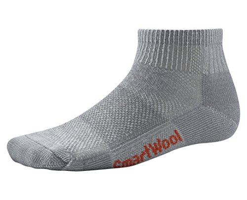 - SmartWool Men's Hike Ultra Light Mini Socks (Gray) Large