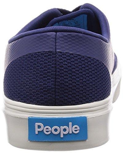 Gente Bambini Stanley Bambino Sneaker Mariner Blu / Picchetto Bianco