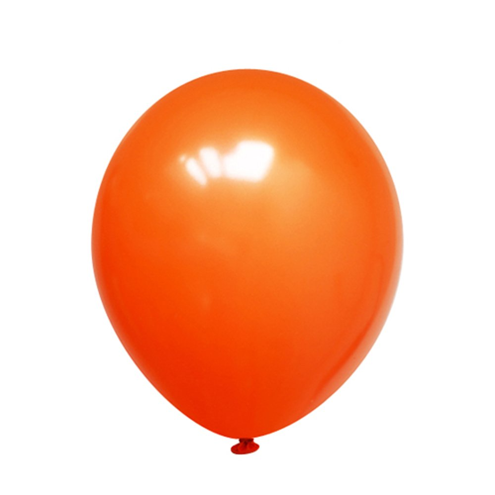 Receptions Adult Birthdays Neo LOONS 12 Pearl Orange Premium Latex Balloons Great for Kids or Any Celebration Water Fights Weddings Baby Showers Pack of 100