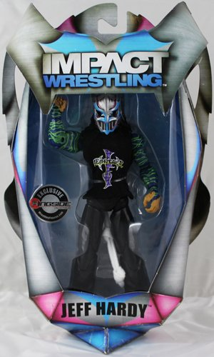 """""""FULL METAL"""" JEFF HARDY - RINGSIDE COLLECTIBLES EXCLUSIVE TNA IMPACT TOY WRESTLING ACTION FIGURE"""