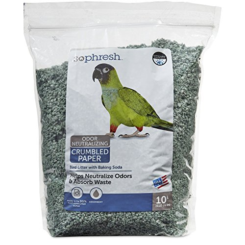 (So Phresh 10L Paper Bird Litter, 10 L)
