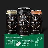 Starbucks Nitro Cold Brew, Black Unsweetened, 9.6