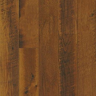 Bruce Hardwoods L3104 Armstrong Architectural Remnants Saw Mark Oak/Sawmill Oak Laminate Flooring, Gunstock/Butterscotch