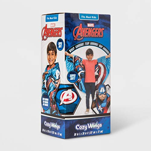 Cozy Wings Avengers Captain America As Seen On TV ()