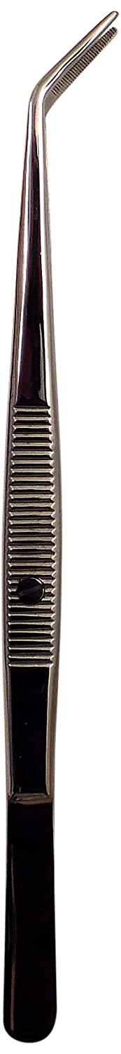Tooltron Serger Tweezers with Serrated Tips