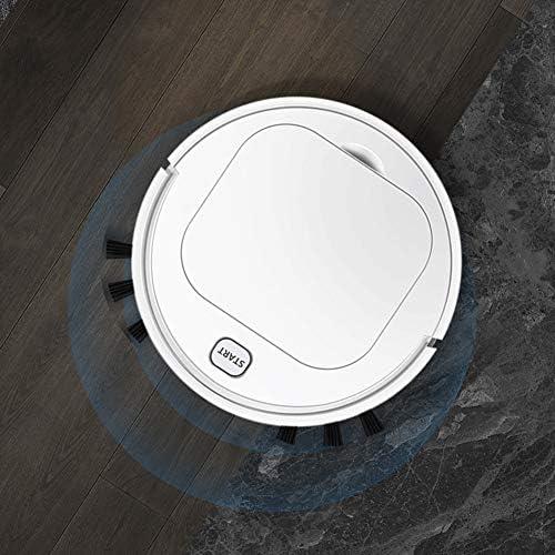 LAHappy Aspirateur Robot Aspirateur Robot Laveur Aspiration Forte 6.8 cm Super Slim pour Poils d\'animaux Tapis sols durs