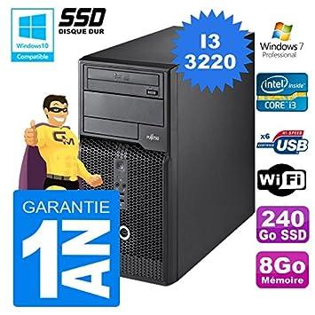 Fujitsu PC Torre Esprimo P400 i3 - 3220, RAM 8 GB disco 240 GB SSD ...