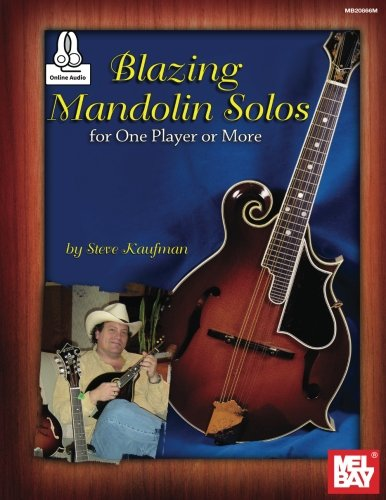 Blazing Mandolin Solos: For One Player or More