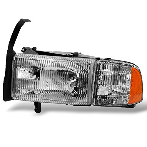 For 1994-2002 Dodge Ram 1500 | 2500 | 3500 Pickup Truck Driver Left LH Side Headlight Headlamp w/Corner ()