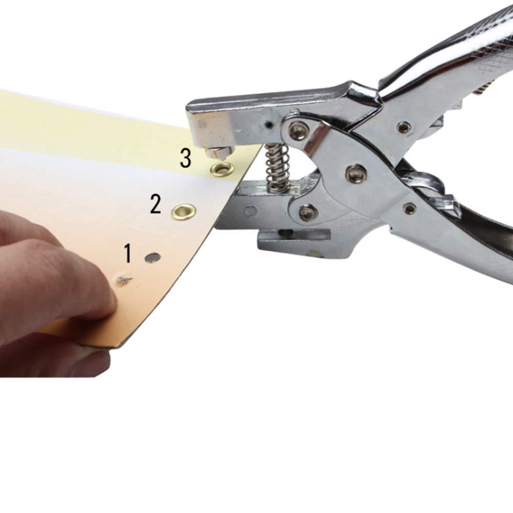 Loch-Maker-Verschluss Druckknopf-Werkzeug Asdomo Multifunktions-/Ösen-Zange