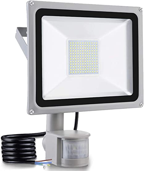 50W 100W LED Floodlight Outdoor Security Slim Flood Light Cool White