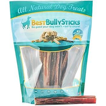 6-inch Odor-Free Bully Sticks by Best Bully Sticks (1 Pound)
