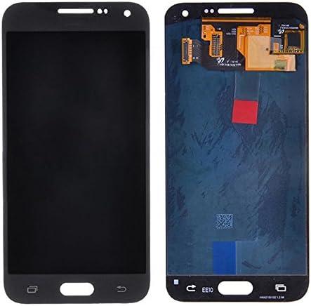 LIYUNSHU LCD Display Black Touch Panel for Galaxy E7 Color : Black