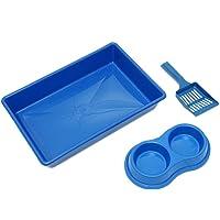 Kit Higienico Gato Four-Plastic Azul Four Plastic para Gatos