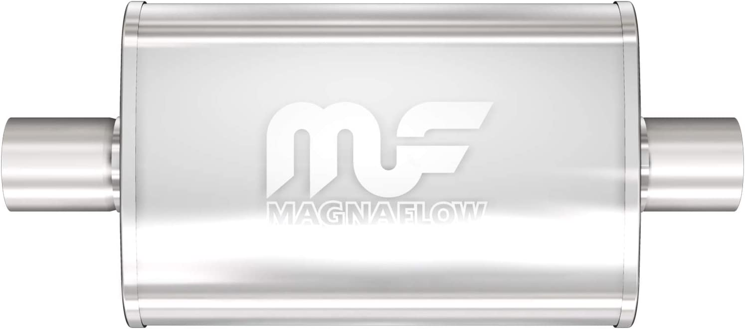 Magnaflow 11113 Stainless Steel 1.75 Oval Muffler
