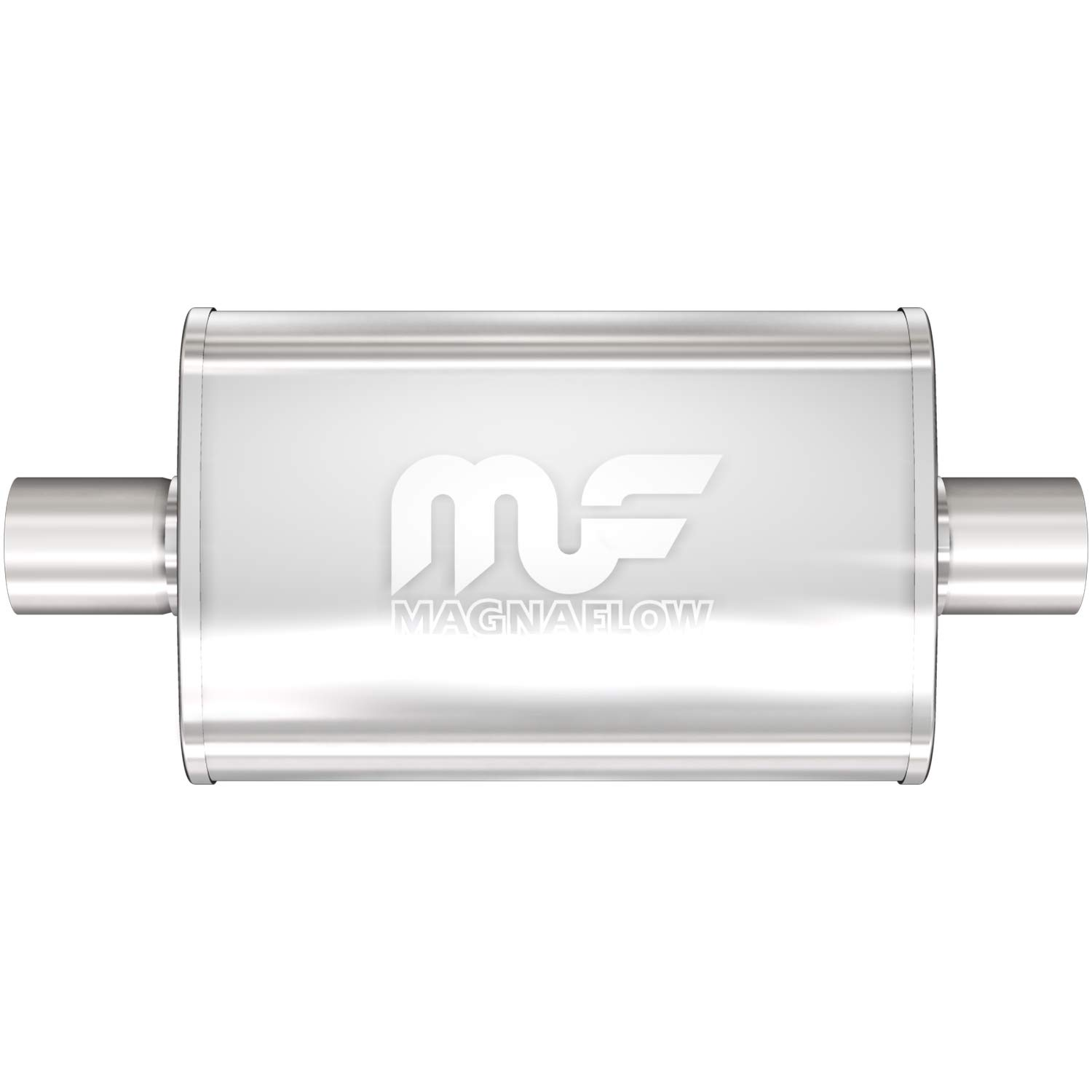 Universal 7109 Car Exhaust Tip Trim End Pipe Tail Sport Muffler Stainless Steel Chrome