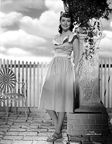 Dorothy Malone Sur Penchant Robe Et Posé Impression Photo (24 X 30)